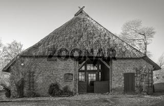 Altes Reetdachhaus