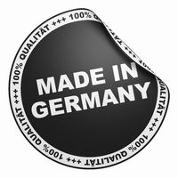 3D Aufkleber Schwarz - 100% Qualität made in Germany