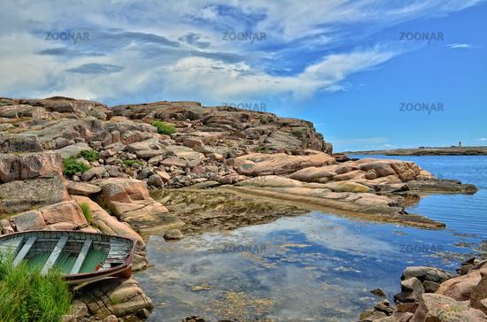 Schärenlandschaft an der schwedischen Westküste