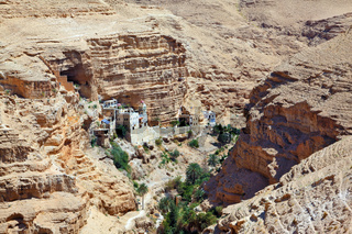 Wadi Kelt near Jerusalem