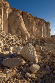 Sillar Stone Quarry in Arequipa Peru