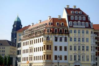 Heinrich Schuetz Haus und Koehlersches Haus in Dresden