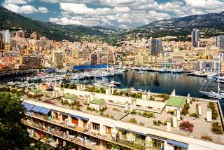 Port Hercules in the principality of Monaco
