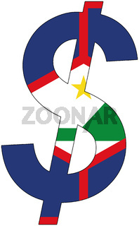 dollar - flag of sint eustatius