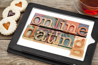 online datingon tablet