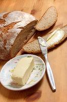 Butter, Brot, Brotzeit im Landhaus