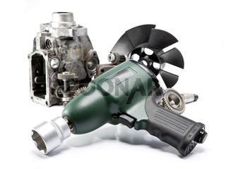 Car repair - details of the pump of high pressure