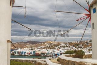 Mykonos in Greece Through Its Famous Windmills