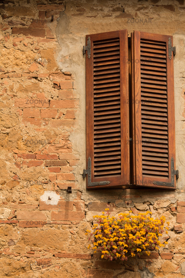 Fensterläden Italien