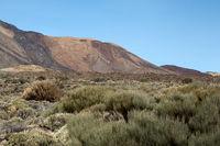 Landschaft am Vulkan Pico del Teide auf der kanarischen Insel Teneriffa