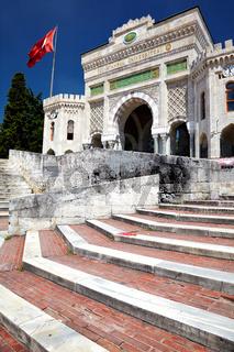 Main entrance of Istanbul University on Beyazıt Square, Istanbul