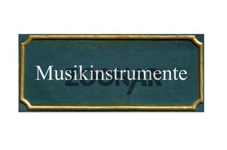 schild musikinstrumente