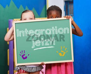 Kinder fordern Integration jetzt!