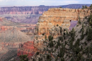 arch at the amazing grand canyon national park north part