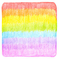 Abstract color pencil scribbles background texture.