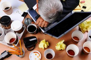 Cluttered Businessman's Desk