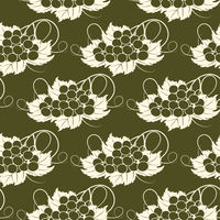 Grapevine  seamless pattern