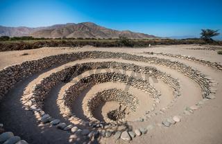 Cantalloc Aqueduct near Nazca, Peru