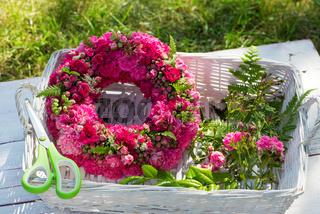 Kranz aus Rosen