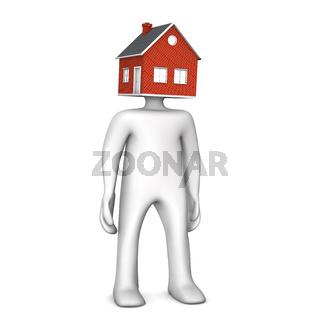Manikin House Head