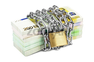 Money and chain