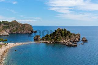 Isola Bella Taormina Meer