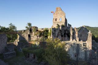 Die Hochburg, auch Burg Hachberg bei Emmendingen