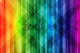 Rainbow background. Bright colorful design with intersect pattern light effect.