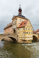 Altes Rathaus or Old Town Halll in Bamberg, Germany