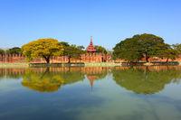 Wall of Fort or Royal Palace in Mandalay