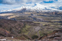 Mount St. Helens in Washington USA