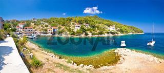 Dugi otok island village summer view