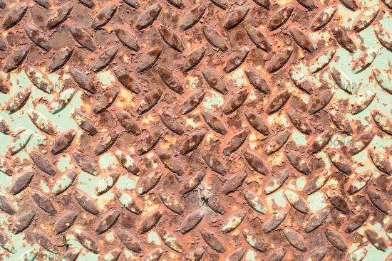 Foto Blech Mit Muster Und Rost Bild 7906374