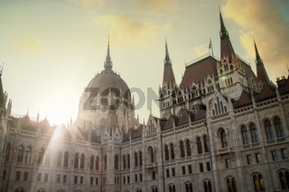 House of Parliament in Budapest.