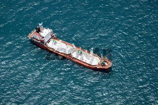 Frachtschiff vor Cairns, Australien