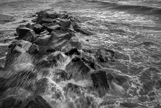 Ostsee - Wellenbrecher
