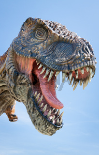 T-rex jurrasic dinosaur