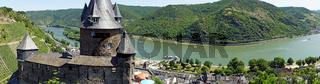 Rhein Panorama bei Bacharach