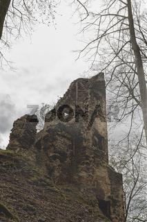 old castle ruins