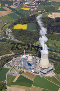 Kernkraftwerk Gösgen an der Aare in der Schweiz