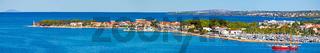 Peninsula of Puntamika in Zadar panoramic view