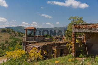 Verlassenes Dorf Sizilien