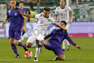 Ferencvaros - Ujpest OTP Bank League football match