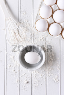 White Baking Still Life