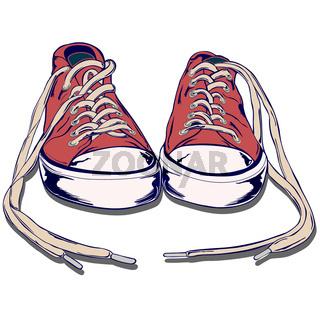 gym shoe.eps