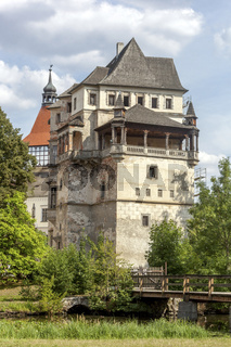 Water Castle, Blatna, South Bohemia, Czech Republic, Europe