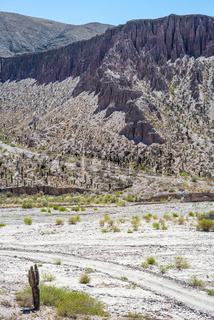Valley of Quebrada de Humahuaca, central Andes Altiplano, Argentina