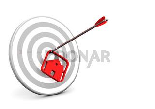 House Arrow Target