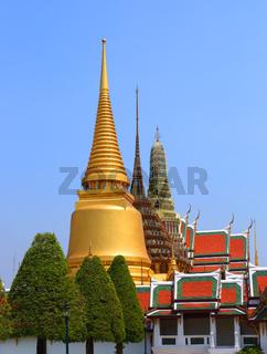 Wat Phra Kaew in Grand Palace, Bangkok