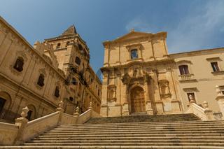 Kapelle Noto Sizilien Barock